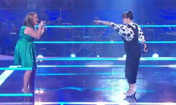 Cath Adams vs Fem Belling 'Mama Knows Best' The Voice Australia Battle Rounds