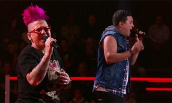 Liam Maihi vs Rene McGovern 'Crazy In Love' The Voice Australia Battle Rounds