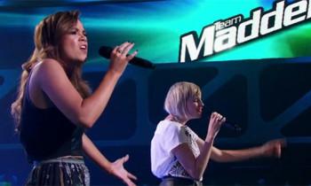 Sarah Valentine vs Amber Nichols 'Shake It Out' The Voice Australia Battle Rounds