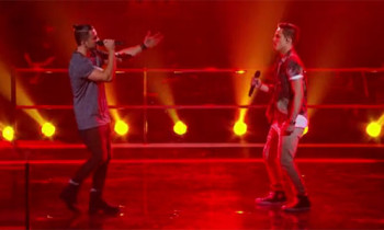 Scott Newnham vs Adam Spain-Mostina 'Love Runs Out' The Voice Australia Battle Rounds