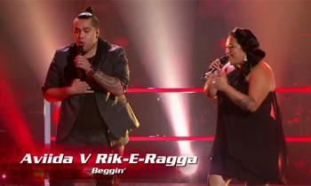 Rik-E-Ragga vs Aviida 'Beggin' The Voice Australia Battle Rounds
