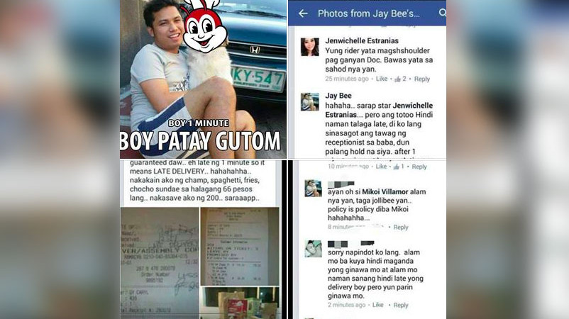 Jollibee Releases Official Statement on Delivery Incident Involving Jay Bee
