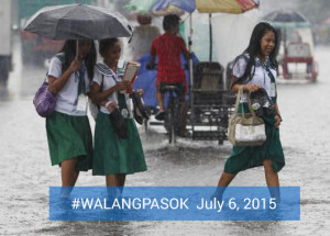 Class Suspensions for July 6 due to Egay