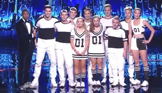 Flight Crew Jump Rope America's Got Talent Semifinals Performance Video
