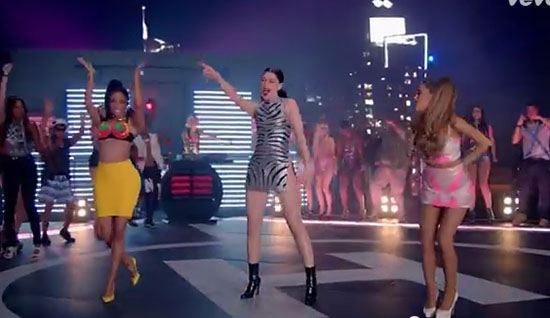 Jessie J Ariana Grande Nicki Minaj Bang Bang Video