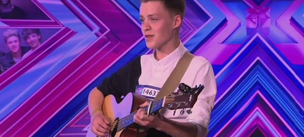 Reece Bibby The X Factor UK 2014 Auditions