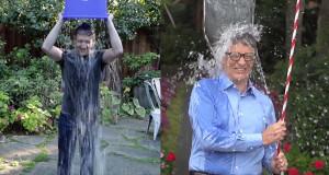 Mark Zuckerberg And Bill Gates Accepts The ALS Ice Bucket Challenge