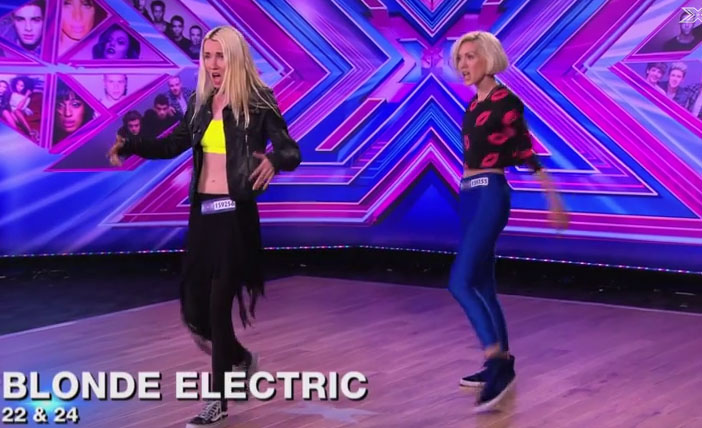 blonde electric x fator uk auditions