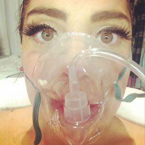 Lady Gaga in Hospital Due to Altitude Sickness