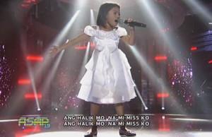 The Voice Kids PH Winner Lyca Gairanod sings 'Halik' on ASAP