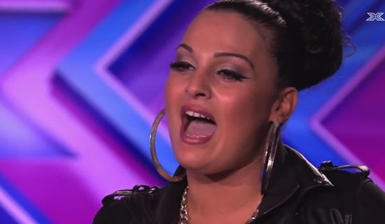 Monica Michael X Factor UK 2014