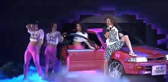 redfoo new thang x factor australia video