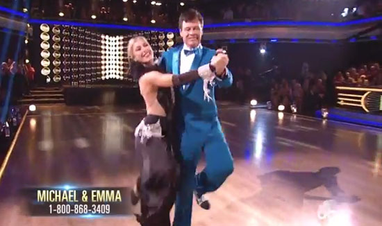 Michael Waltrip and Emma Slater – Quickstep – Dancing With The Stars DWTS 2014