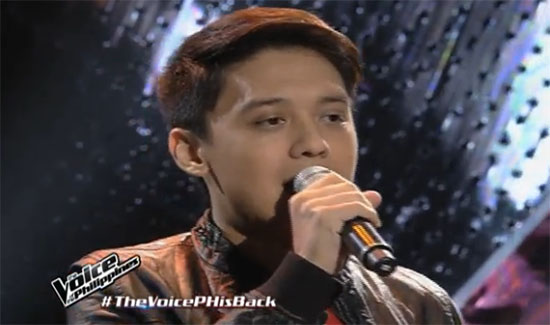 Timmy Pavino The Voice Philippines