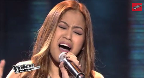 Monique Lualhati The Voice of the Philippines