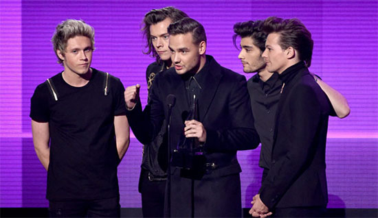 one direction amas 2014 artist of the year