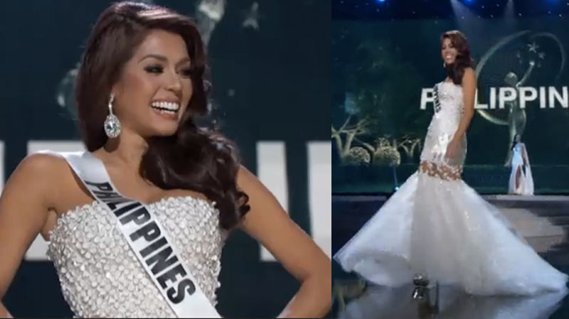Miss Philippines MJ Lastimosa Evening Gown and Swimsuit in ...