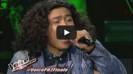 Rence Rapanot the voice philippines finals