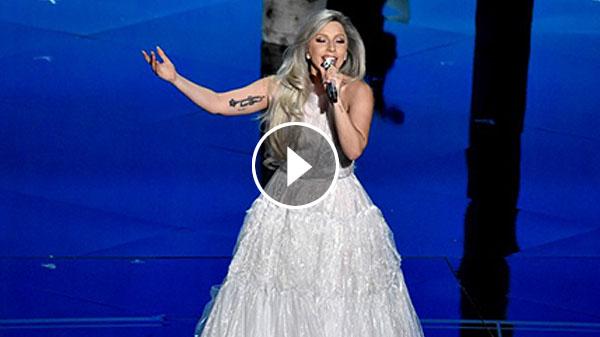 Lady Gaga Sound Of Music Tribute Oscars 2015 Performance Video