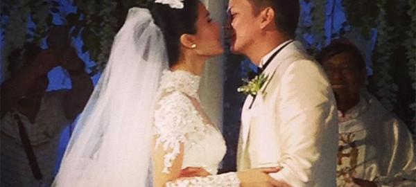 heart evangelista chiz ecudero wedding