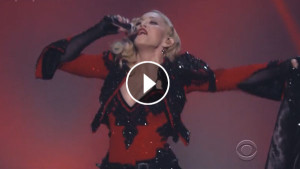 Madonna Grammy Awards 2015 'Living For Love' Performance Video