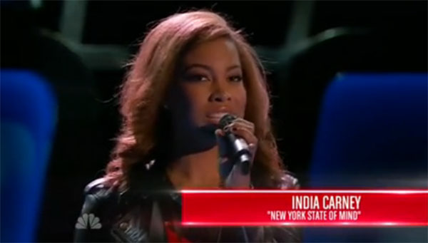 India Carney The Voice 2015