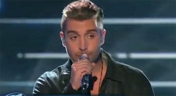 Nick fradiani sings 39 man in the mirror 39 on american idol for Ashland craft american idol