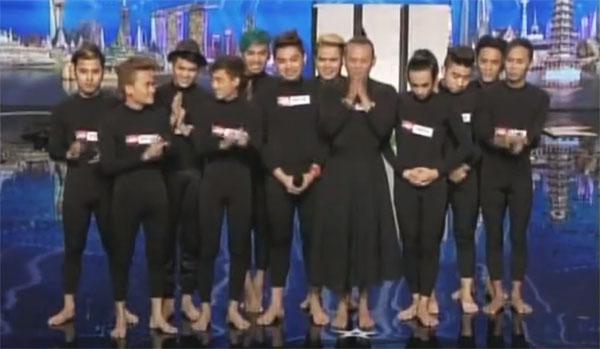 EL GAMMA PENUMBRA Gets the Golden Buzzer on Asias Got Talent