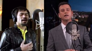 Jimmy Kimmel Sings Manny Pacquiao Tagalog Song