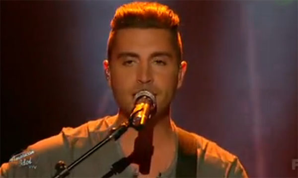 Nick Fradiani sings 'Teenage Dream' on American Idol Top 8 'Billboard Hot 100′ Show