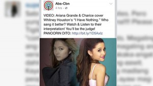 Charice Offended by Comparisons to Ariana Grande