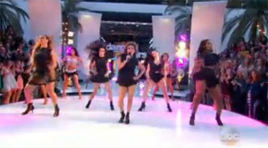 Fifth Harmony sings 'Worth It' on Dancing With The Stars 2105 Season 20 Finale