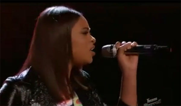 Koryn Hawthorne sings 'If I Were A Boy' on The Voice Instant Save