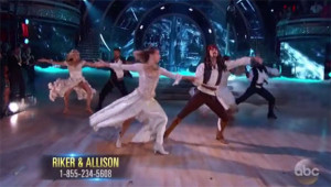 Riker Lynch and Allison Holker Dance 'Paso Doble' on Dancing With The Stars Season 20 Finals