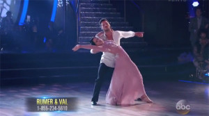 Rumer Willis and Val Chmerkovskiy Dance 'Foxtrot' on Dancing With The Stars Season 20 Finals