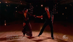 Rumer Willis and Val Chmerkovskiy Dance Freestyle to 'Toxic' Dancing With The Stars Season 20 Grand Finale (Video)