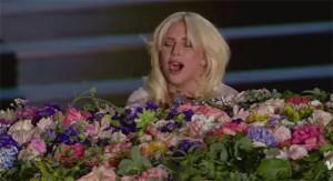 Lady Gaga Sings 'Imagine' at Baku 2015 European Games