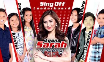 The Voice Kids Philippines Season 2 Team Sarah Sing Offs August 16 Episode