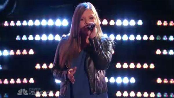 Amanda Ayala The Voice 9 Auditions