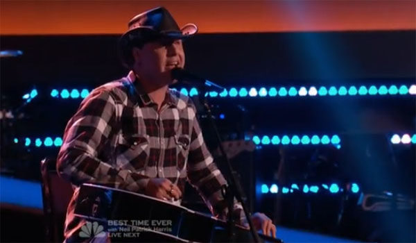Blind Joe The Voice Blind Auditions