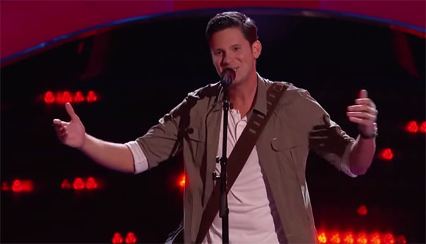 Chris Crump The Voice 9 Audition