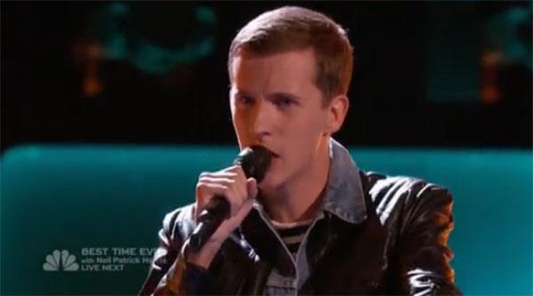 Evan McKeel The Voice Auditions