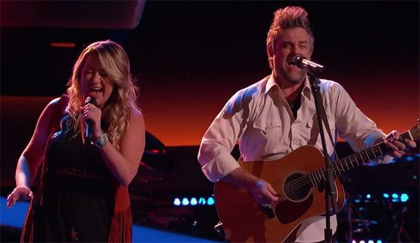 Jubal and Amanda The Voice 9 Audition