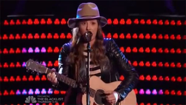Lyndsey Elm The Voice 9 Auditions
