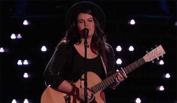 Madi Davis The Voice 9 Audition
