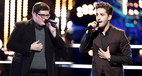 Jordan Smith vs Viktor Kiraly The Voice Knockouts