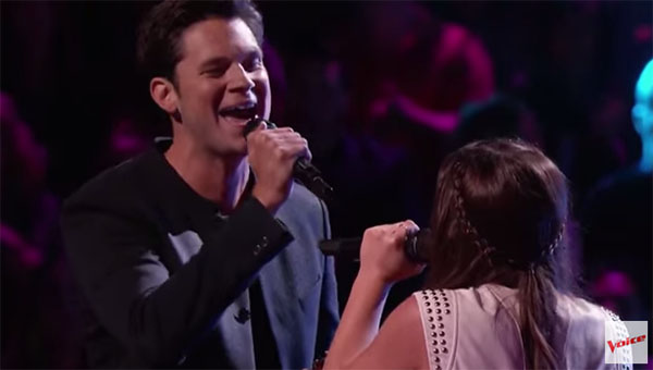 Krista Hughes vs Chris Crump the Voice Battles