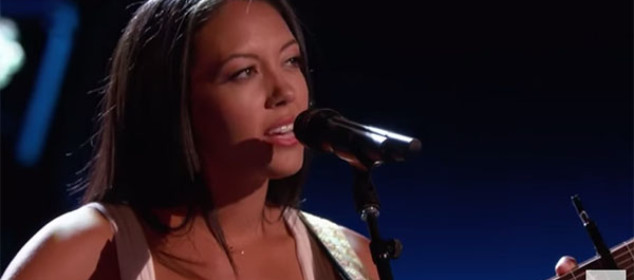 Pinay singer Amy Vachal The Voice 9