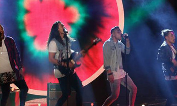 Fisher Boys sings 'Beggin' on The X Factor Australia Top 11 Live Shows
