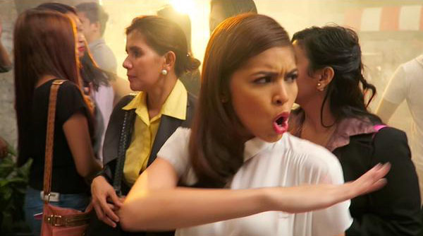 maine mendoza downy television commercial
